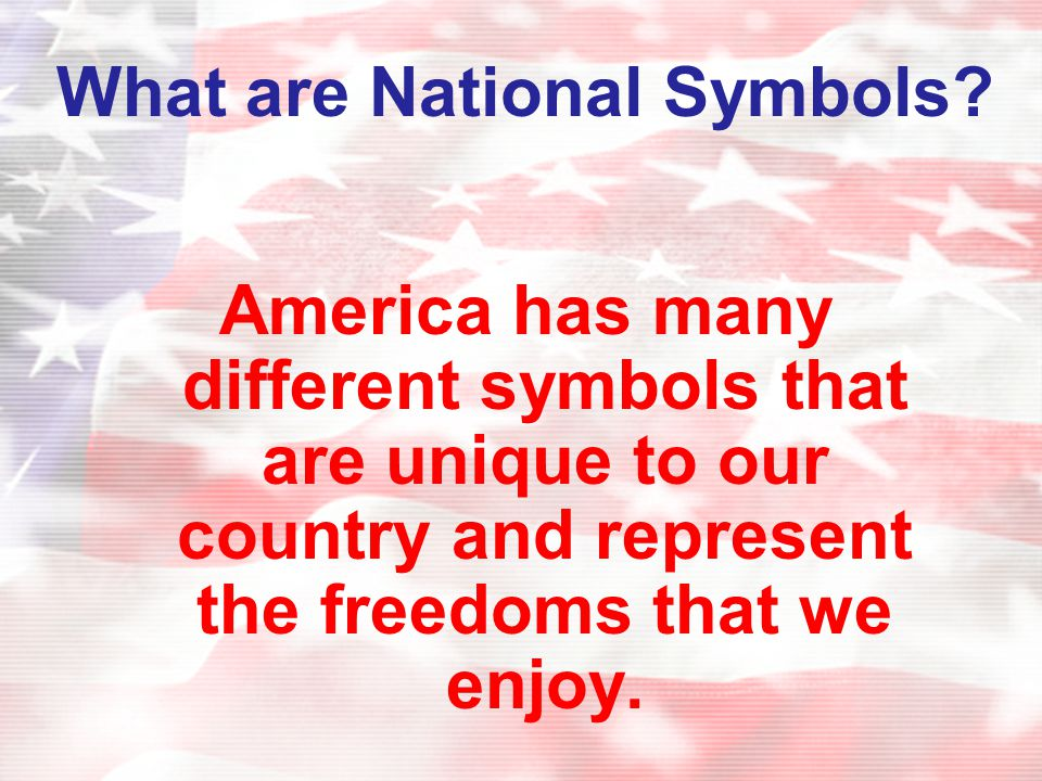 What are National Symbols