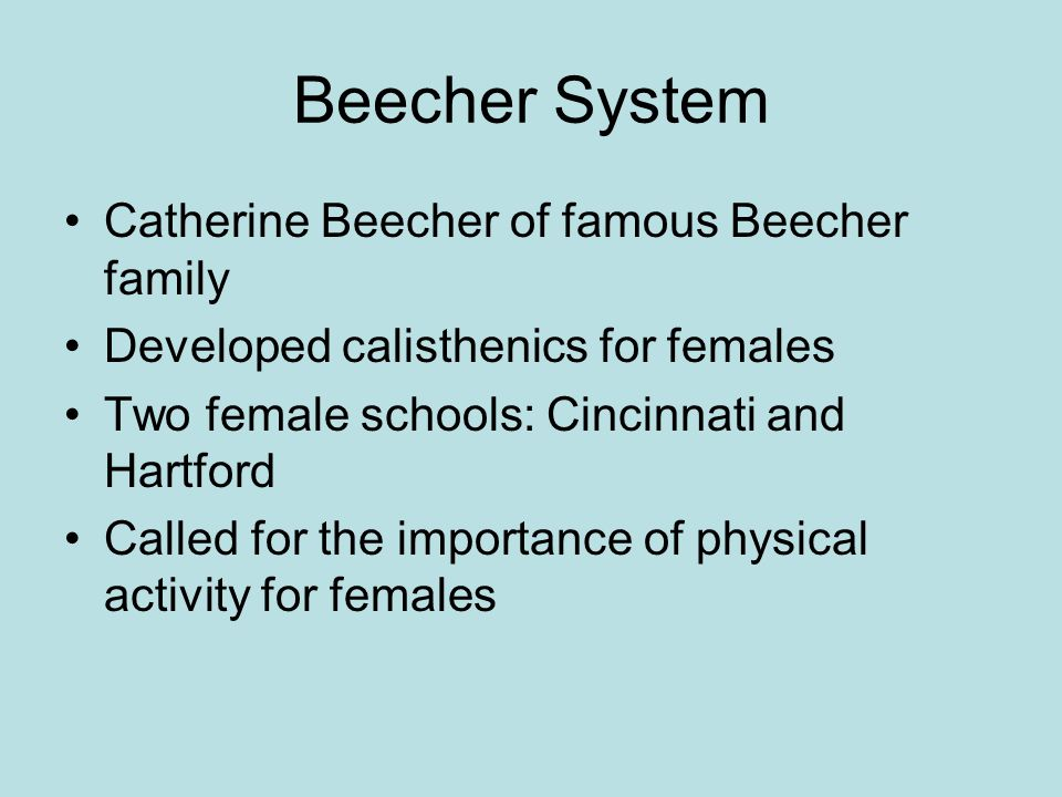 catharine beecher an essay on the education of female teachers For women to succeed as teachers, they needed access to more substantial education, like that beecher herself offered through the schools she founded, hartford female seminary (1823).