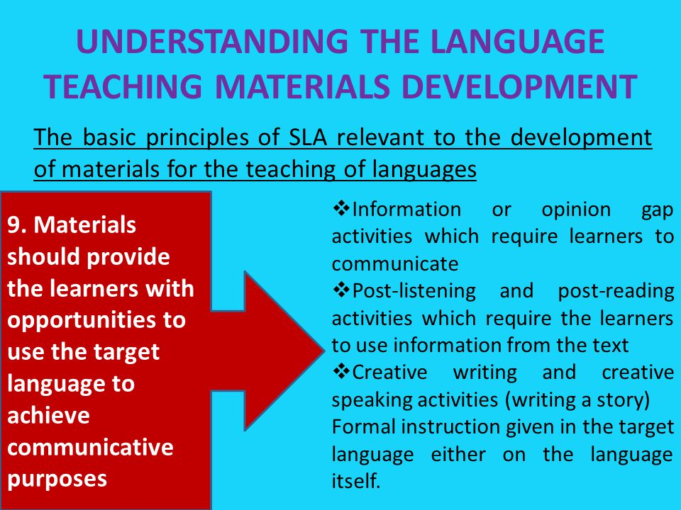 Emergence of communicative language teaching