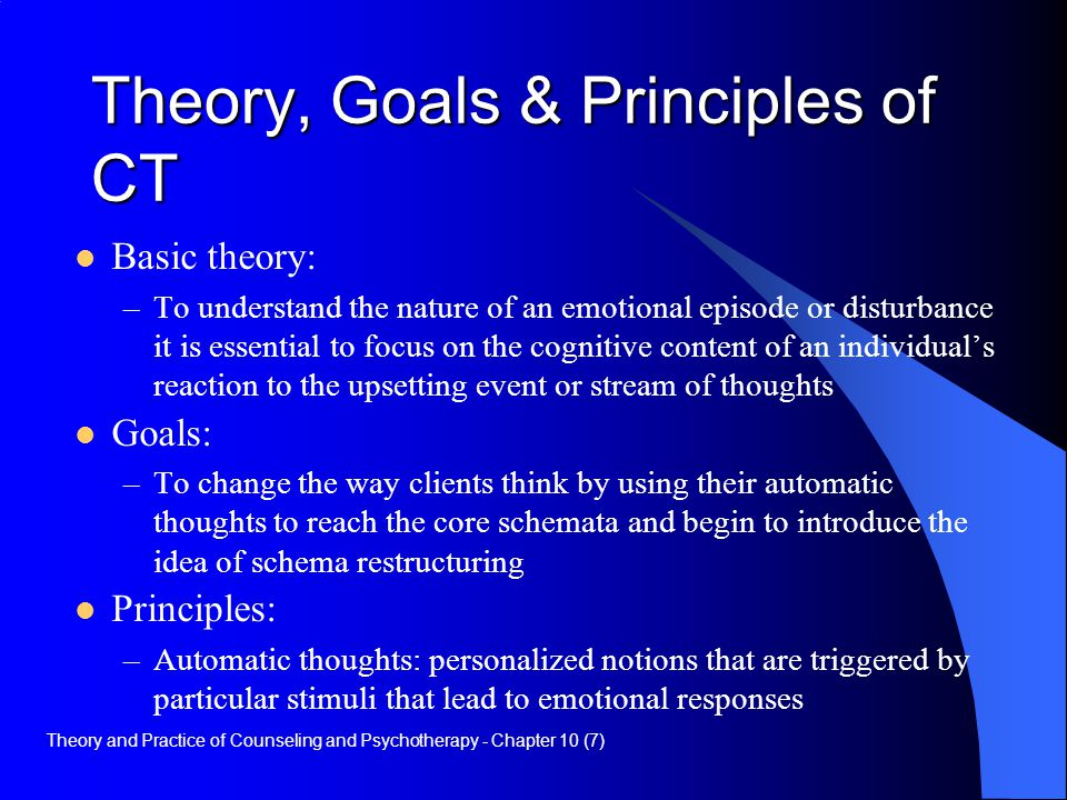 principles of cognitive behavioral therapy pdf
