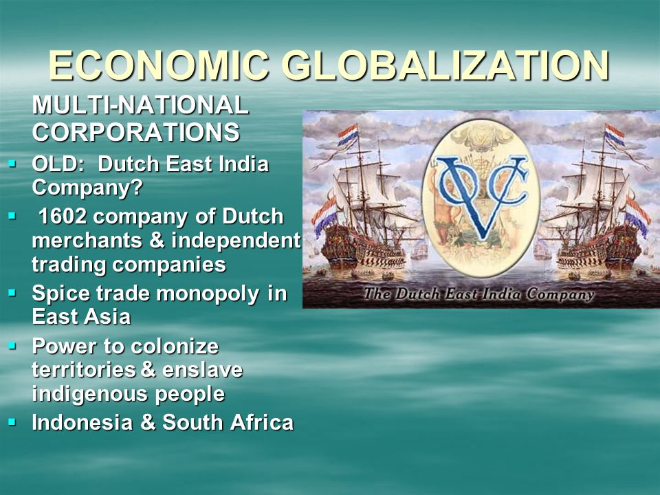 economic globalisation This paper will discuss the benefits and drawbacks from the point of view that globalization made in the developing countries in the three important fields such as economic and trade processes, education and health systems and culture effects it is consists of four paragraphs in paragraph one, the.