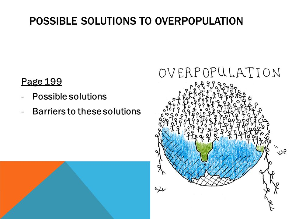 possible outcomes of overpopulation Are the central questions about overpopulation3 possible outcomes in some past century overpopulation and the quality of life 10 1 2.