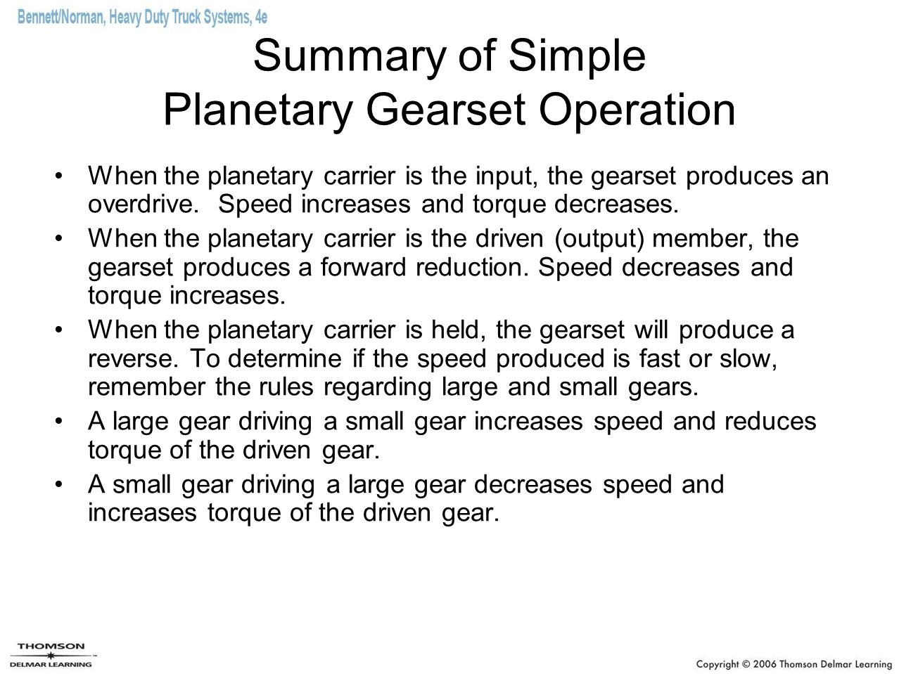 Automatic transmissions ppt download summary of simple planetary gearset operation sciox Image collections