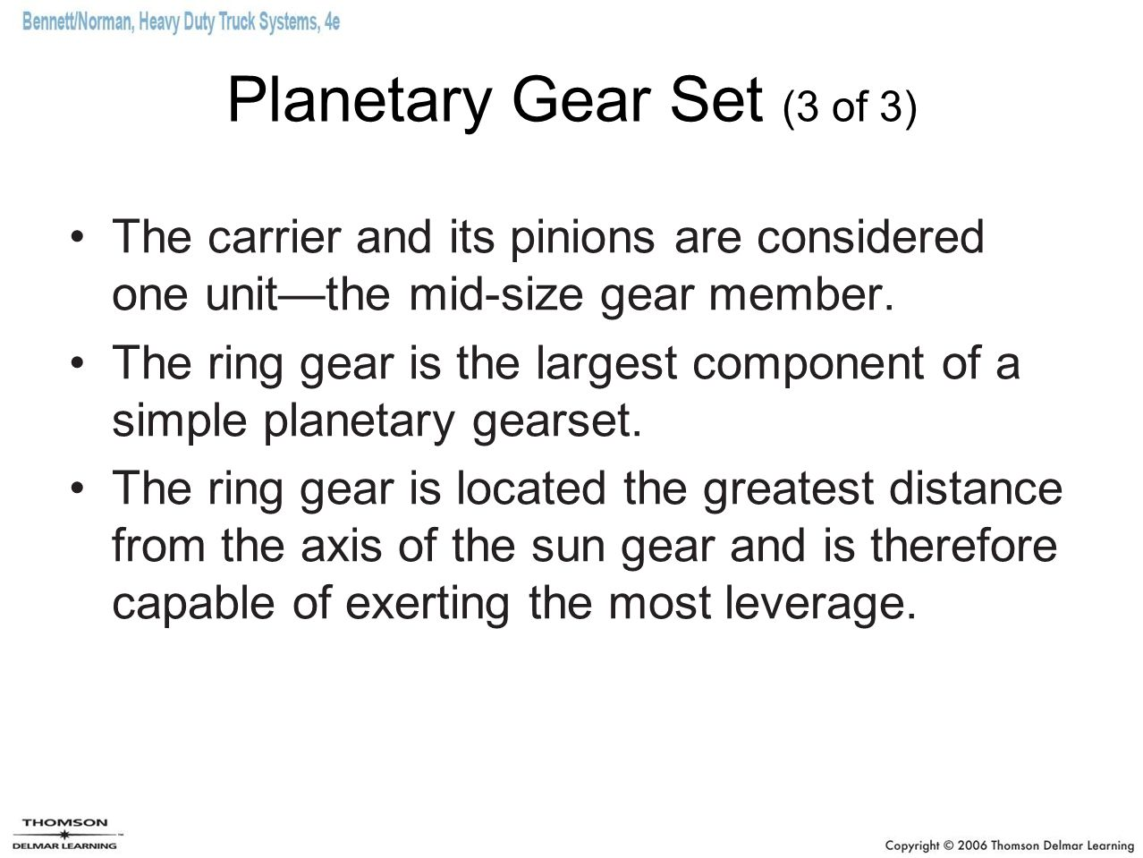 Automatic transmissions ppt download planetary gear set 3 of 3 sciox Image collections