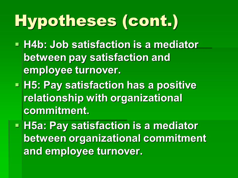 relationship between job satisfaction and job Job satisfaction, job performance, and effort: a reexamination using agency theory and job satisfactionthe relationship between job perfor.