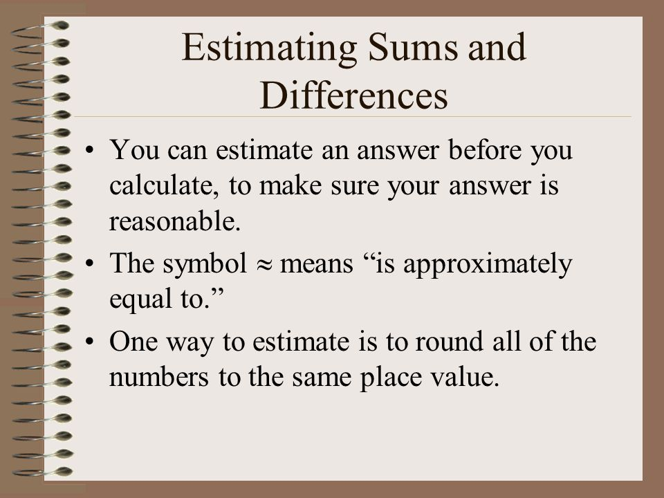 how to find best estimate for difference of means