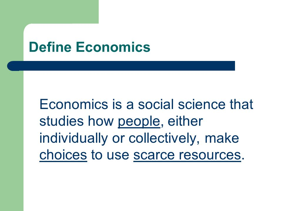 is economics a science According to the business insider, economics is like a science because economists use an empirical or scientific method to solve problems in addition, theories in economics can be tested.