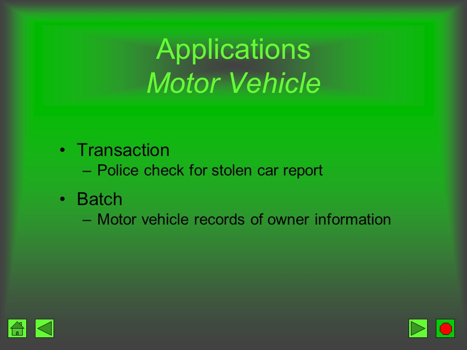 Storage and multimedia the facts and more ppt download for Motor vehicle record check