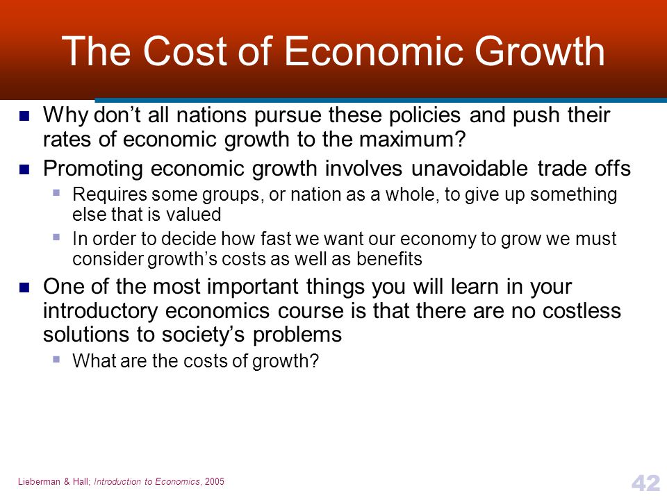 benefits and costs of economic growth Economic growth - download as pdf file (pdf), text file (txt) or read online.