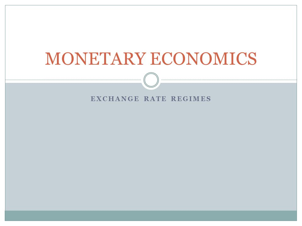 monetary economics Monetary economics: policy and its theoretical basis keith bain principal lecturer, east london business school university of east london peter howells.