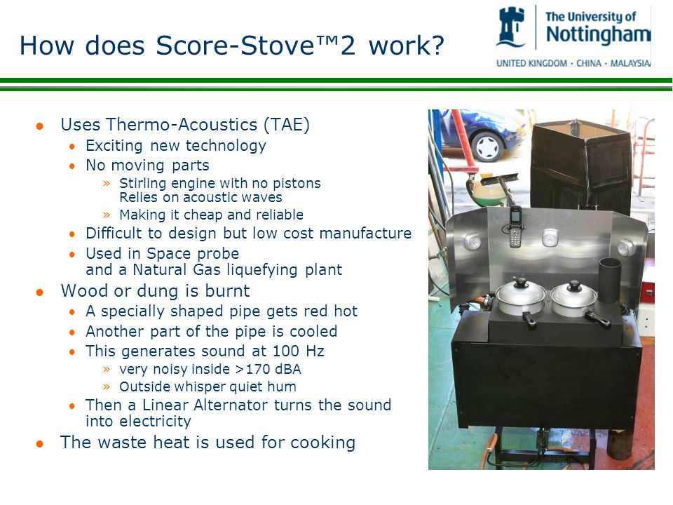 How does Score-Stove™2 work