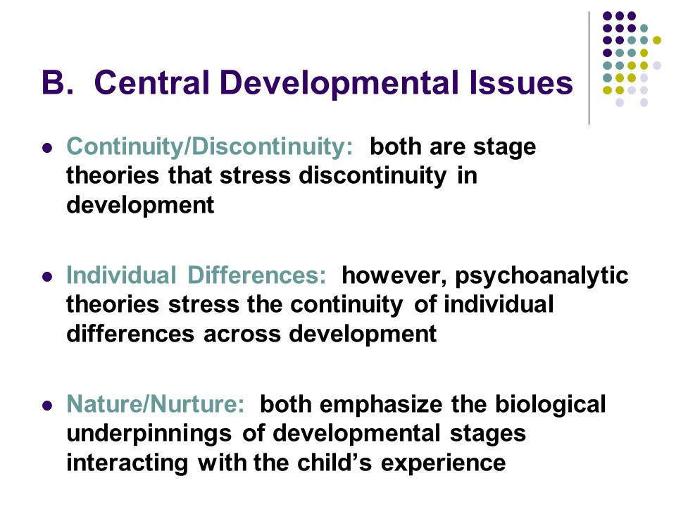 individual differences and stress Maternal care, gene expression, and the development of individual differences in stress  stress and the individual  individual differences in.
