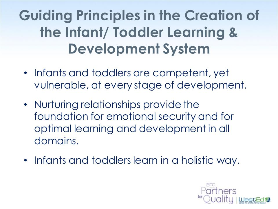 an introduction to the development of infants Development in infants so that you can provide  chapter 2: development of infant feeding skills  one reason for delaying the introduction of.