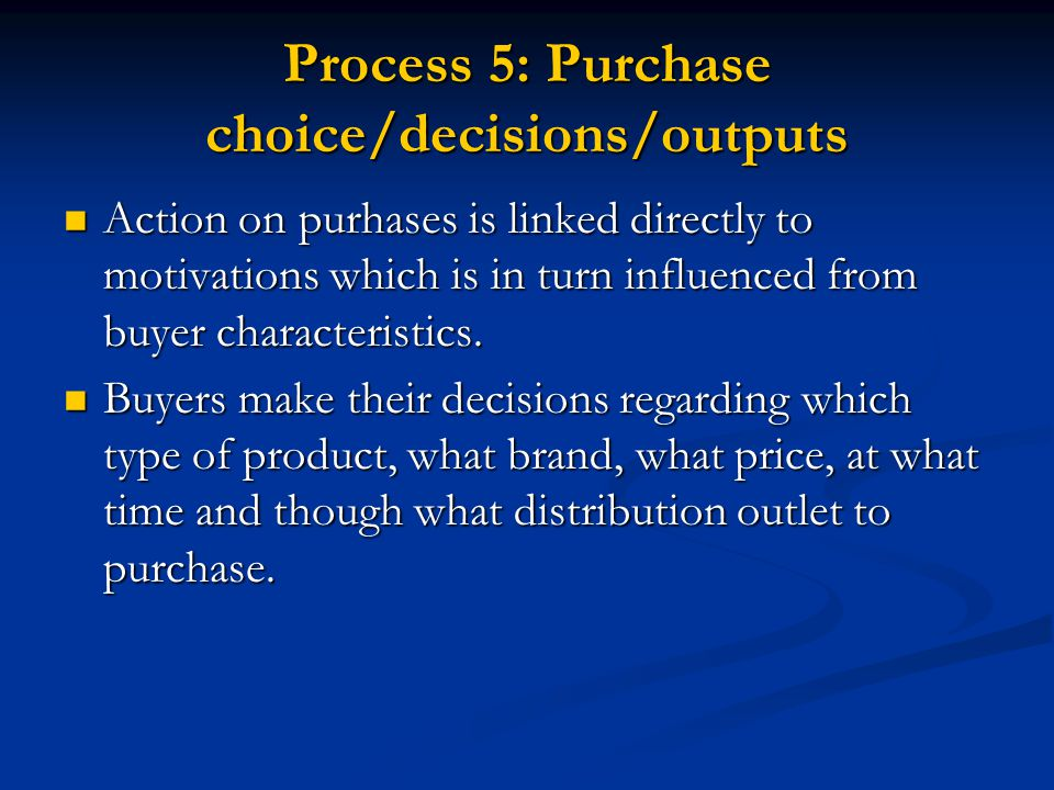 understanding the motivation behind the decision making process The essential guide to effective decision making behind every decision you make as it influences all your subsequent thinking in the decision making process.