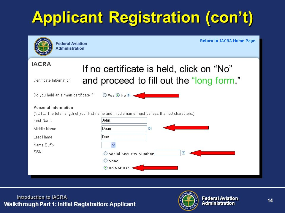 What is IACRA? IACRA, the Integrated Airman Certification and/or ...