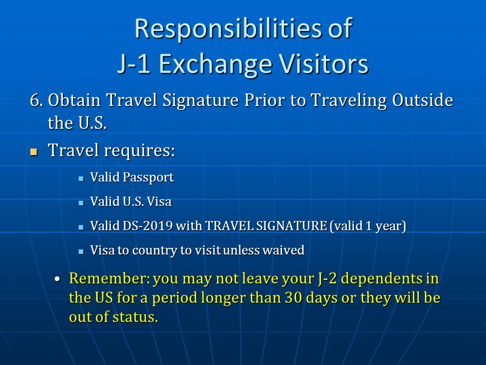 Traveling Within Us With Expired Visa