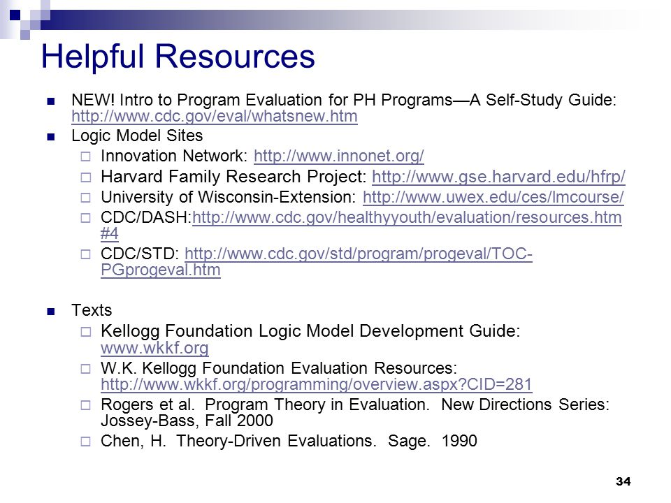 logic models and organizational strategy and evaluation ppt download
