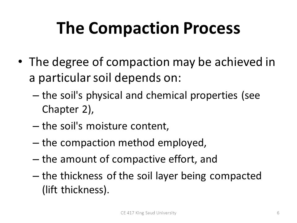 Compacting and finishing part 1 ppt video online download for Physical and chemical properties of soil wikipedia
