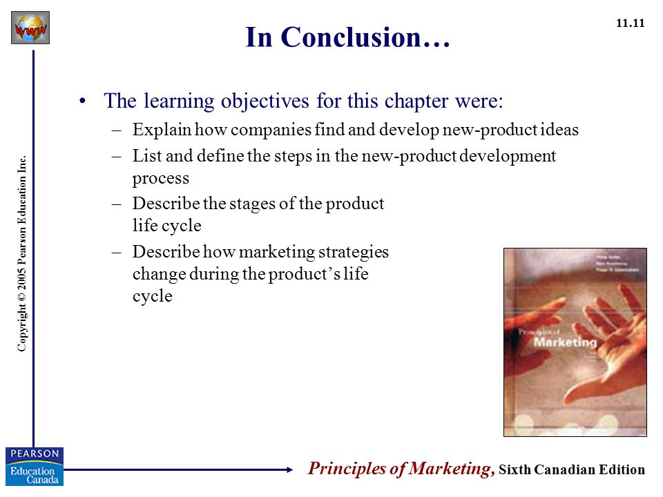 In Conclusion… The learning objectives for this chapter were:
