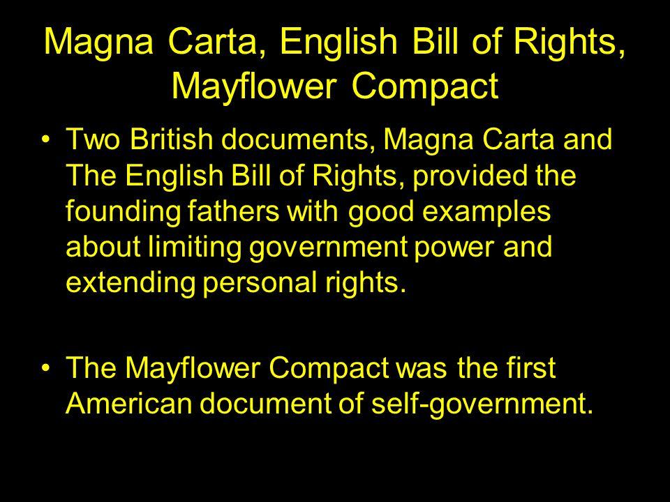 magna carta v bill of rights