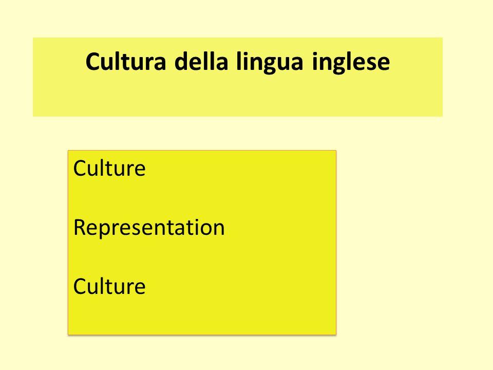 Cultura della lingua inglese
