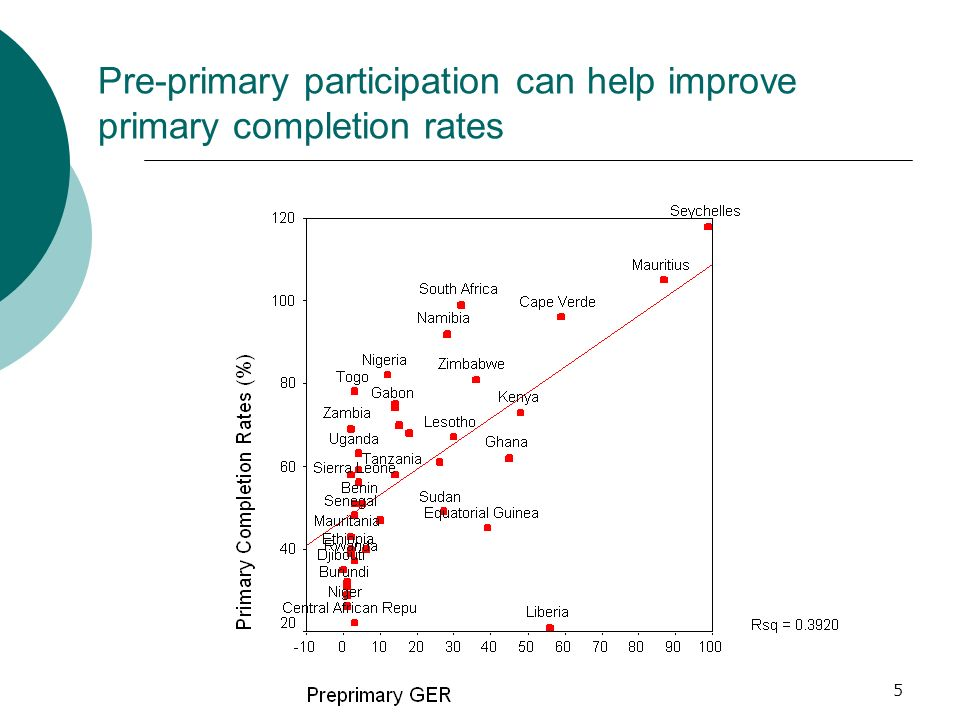 Pre-primary participation can help improve primary completion rates