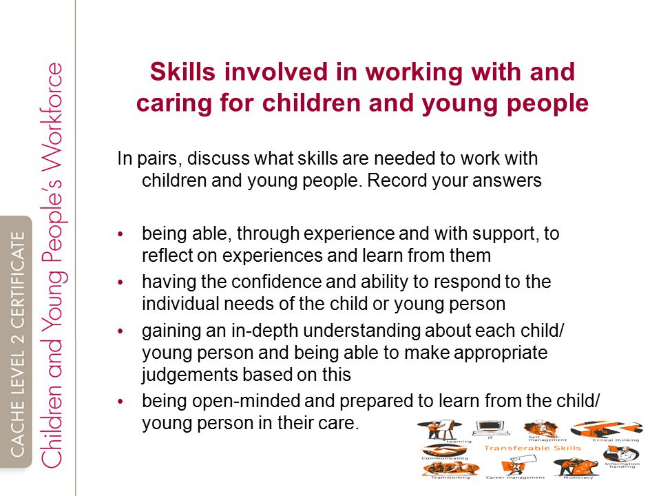 child and young person development