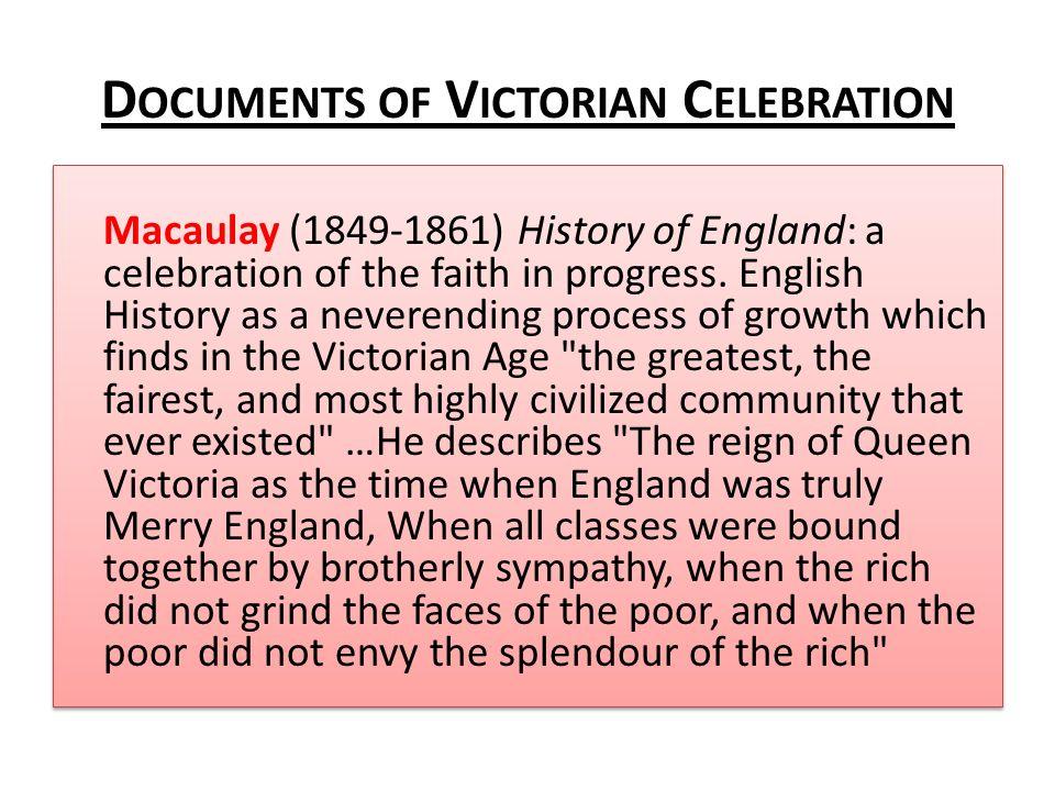 Documents of Victorian Celebration