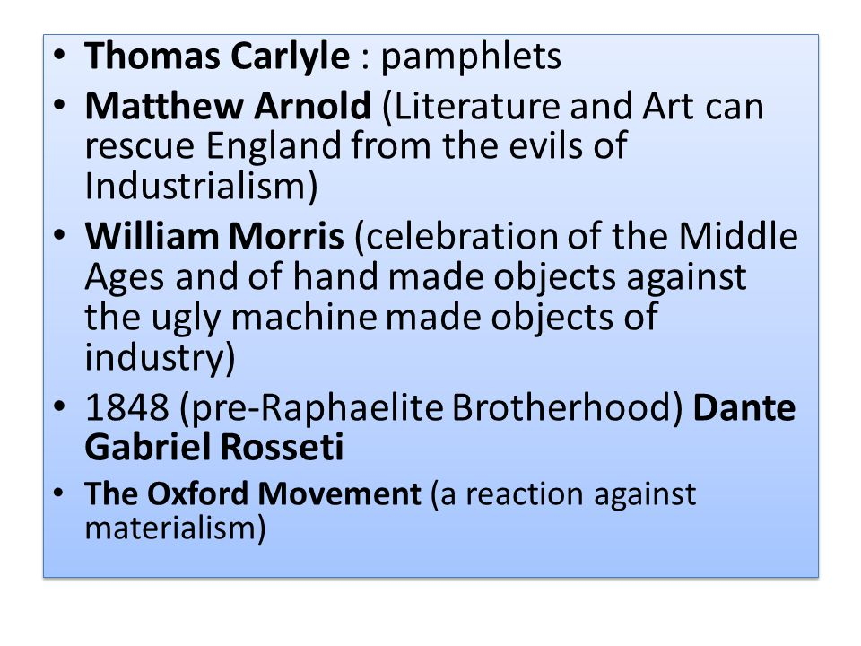 Thomas Carlyle : pamphlets