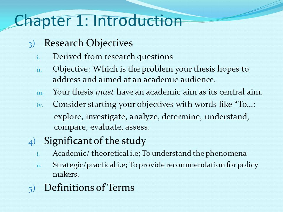 dissertation chapter five components Before starting your dissertation [] toggle navigation  most dissertations follow the same basic structure and are made up of five parts: an abstract.