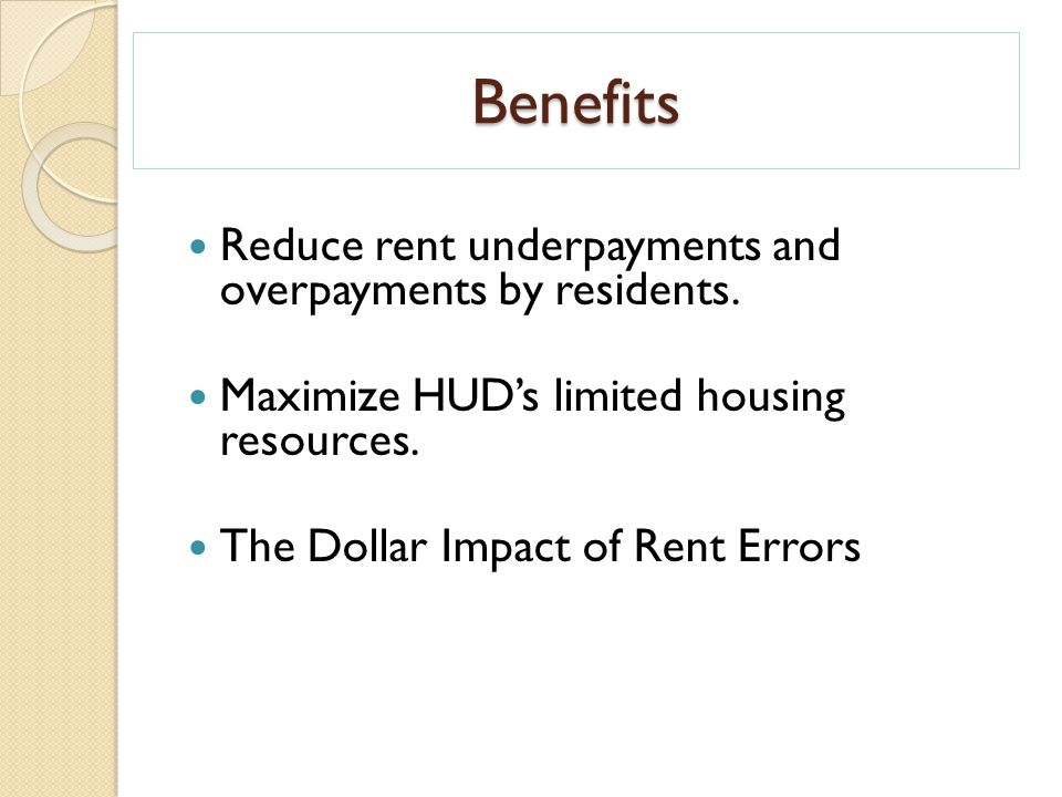 Verification and Rent Calculation ppt download – Hud Rent Calculation Worksheet