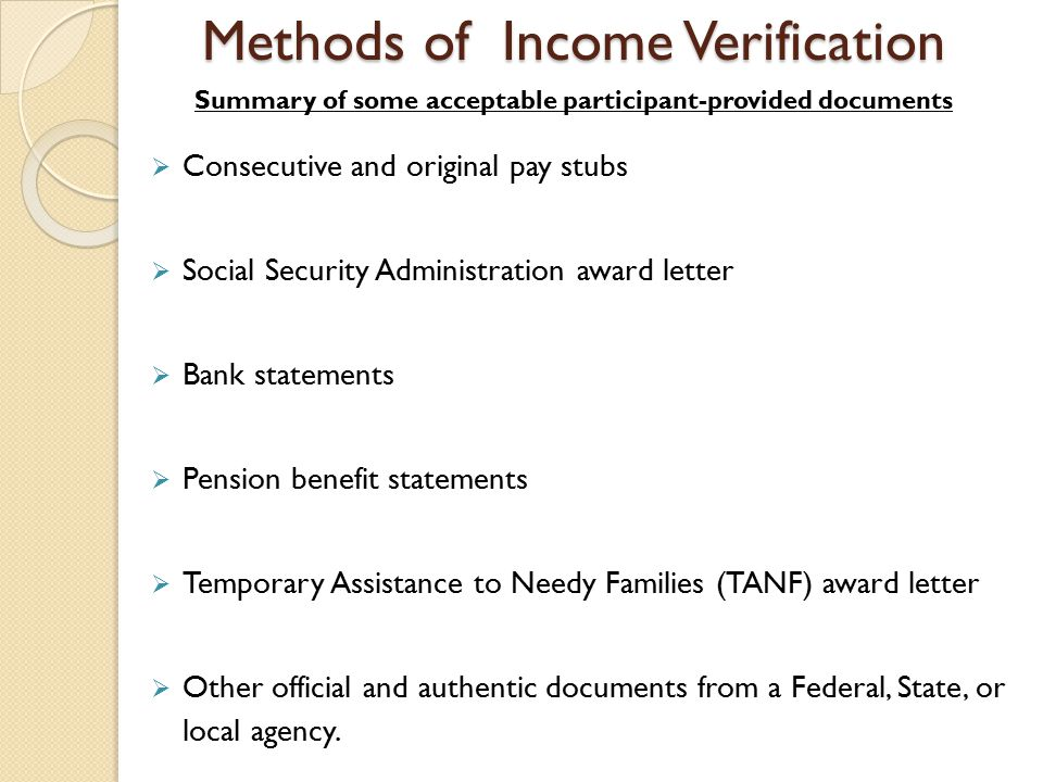 Verification And Rent Calculation - Ppt Download