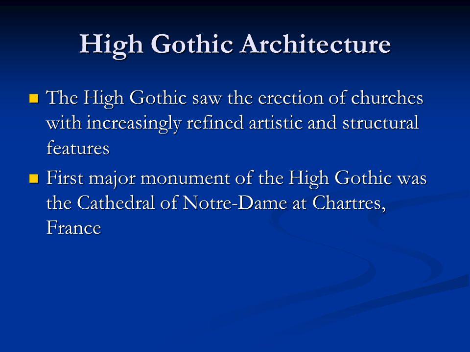High Gothic Architecture
