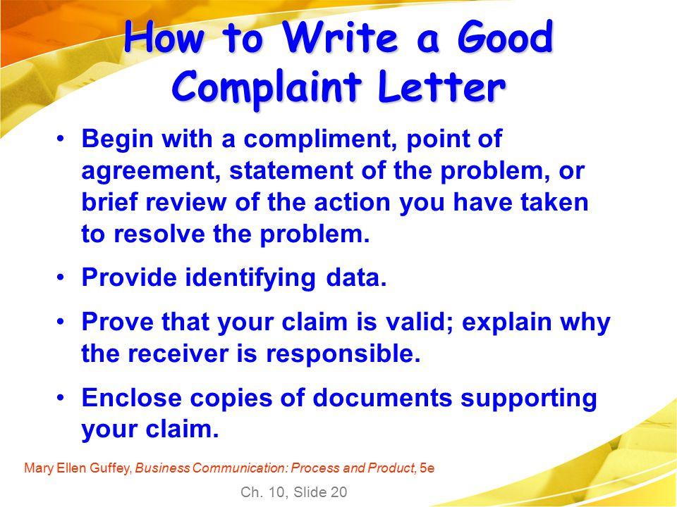 How to write to ellen