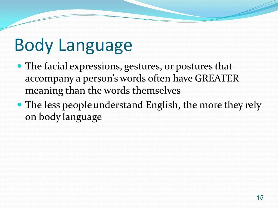 24 TUTORIAL BODY LANGUAGE MEANING ENGLISH WITH VIDEO AND PDF