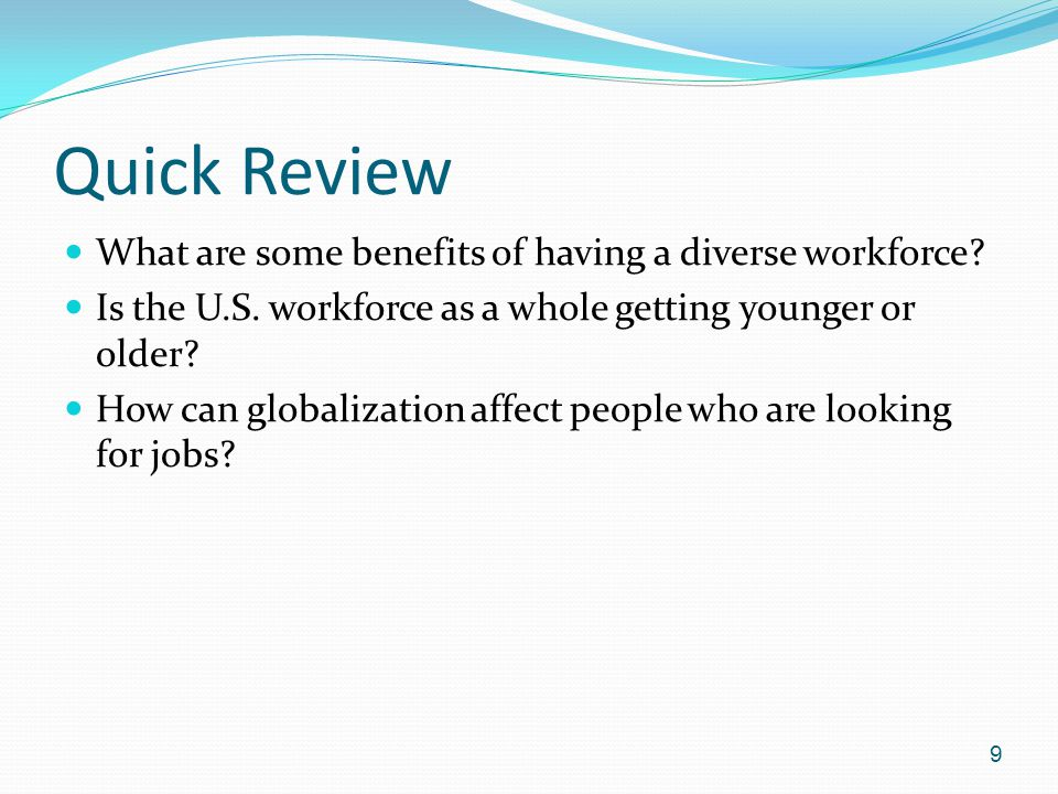 a look at the importance of diversity in the workforce Why gender diversity matters most people today have no knowledge about the makeup of corporate boards, even in the companies they work for these stakeholders would be surprised to learn how little diversity of thought and experience exists in the corporate boardrooms and executive suites of american businesses.