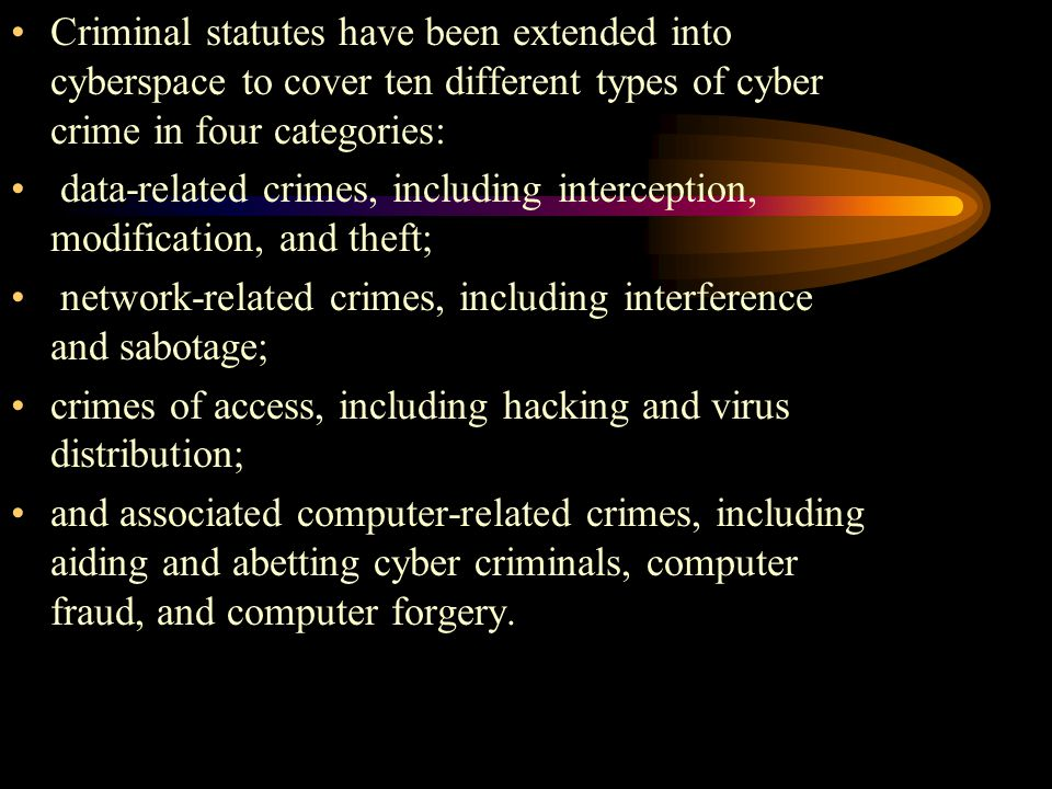 different types of computer crime The 7 types of computer viruses to  computer viruses come in many forms and can affect your machine in different ways obviously, your computer isn't going to.