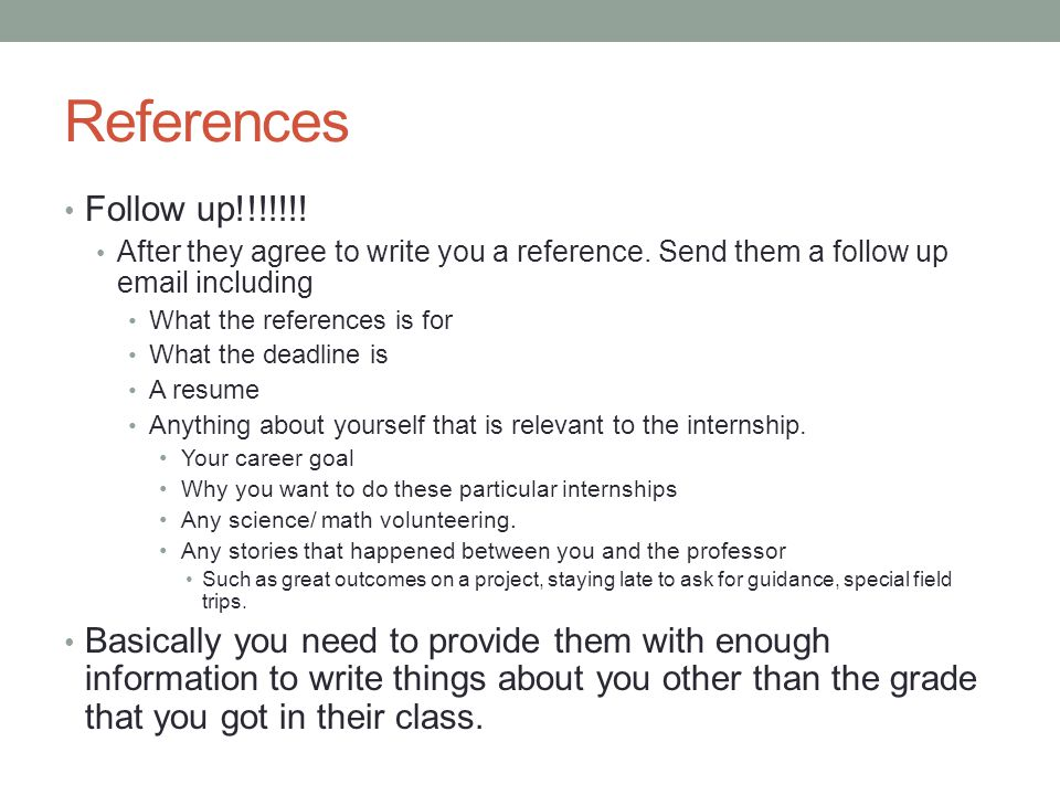how to write an email for internship