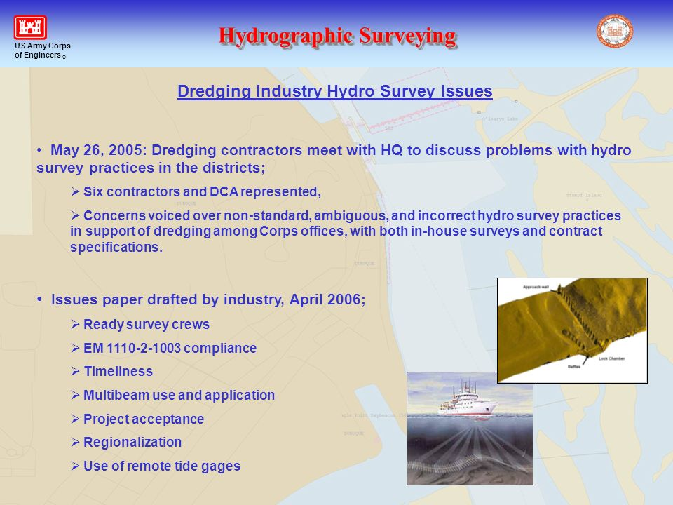 Dredging Industry Hydro Survey Issues