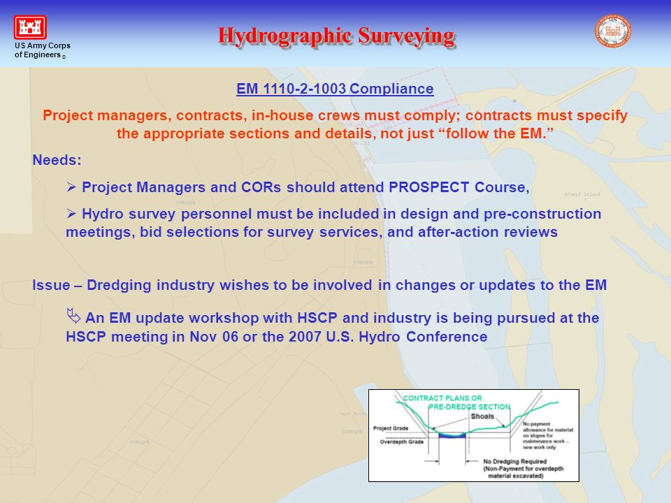 EM 1110-2-1003 Compliance