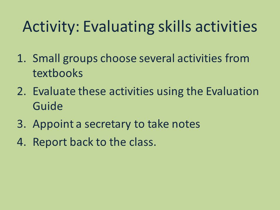ptlls task 4 microteaching evaluation