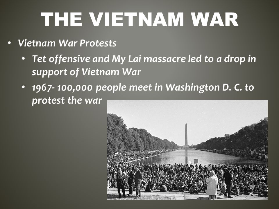 why did america become involved in the vietnam war Best answer: after ww2 the us adopted a policy of containment meaning that we would contain the spread of communism around the world vietnam, along with laos and cambodia was once known as french-indochina, and controlled by the french they had lost control of the area during ww2 and wanted it back.