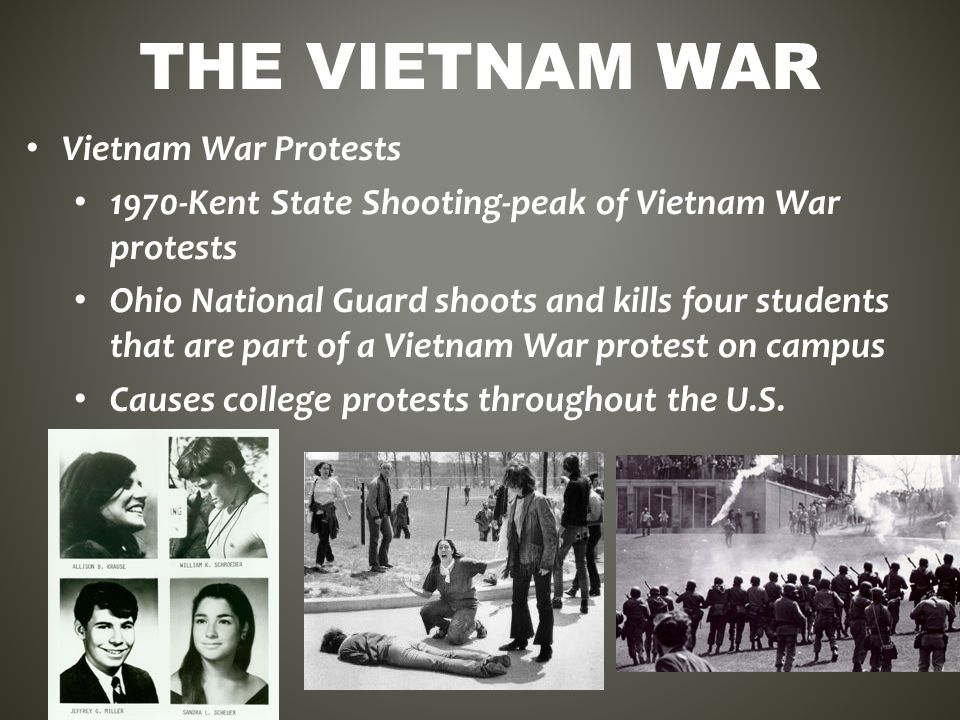 a discussion on the involvement of students in the vietnam war Largest online source for information on the vietnam war  and activism against  war--particularly, the vietnam war--among students,  sampling of primary  documents showing cia's involvement in every aspect of the indochina war   these telegrams, minutes, and discussion notes range from the mid-1950s to the  end.