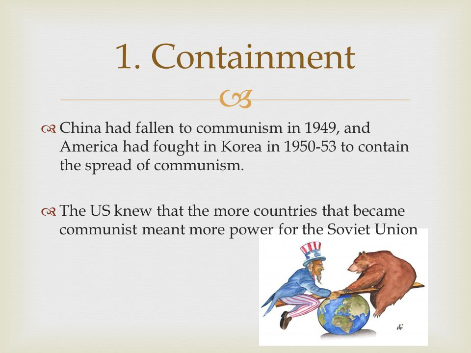 why did america become involved in Enquiry lesson for students to realise the role of containment and domino theory in explaining why the usa became involved in the vietnam war.