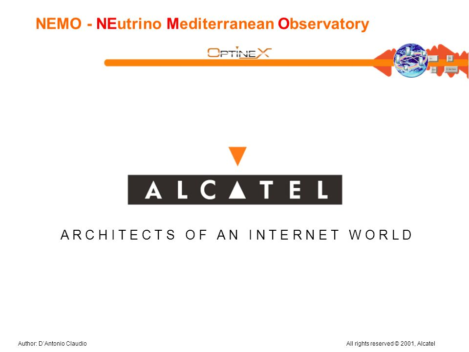 NEMO - NEutrino Mediterranean Observatory