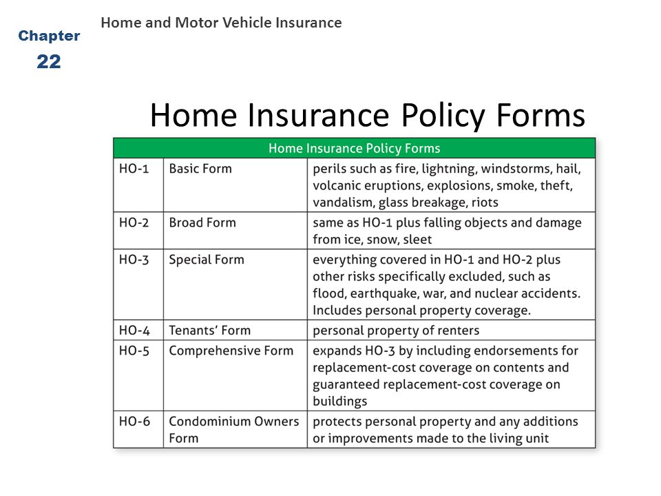 Homeowners And Auto Insurance Ppt Video Online Download