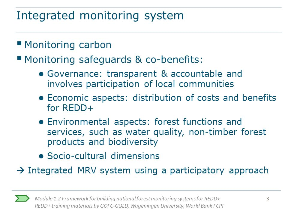Integrated monitoring system