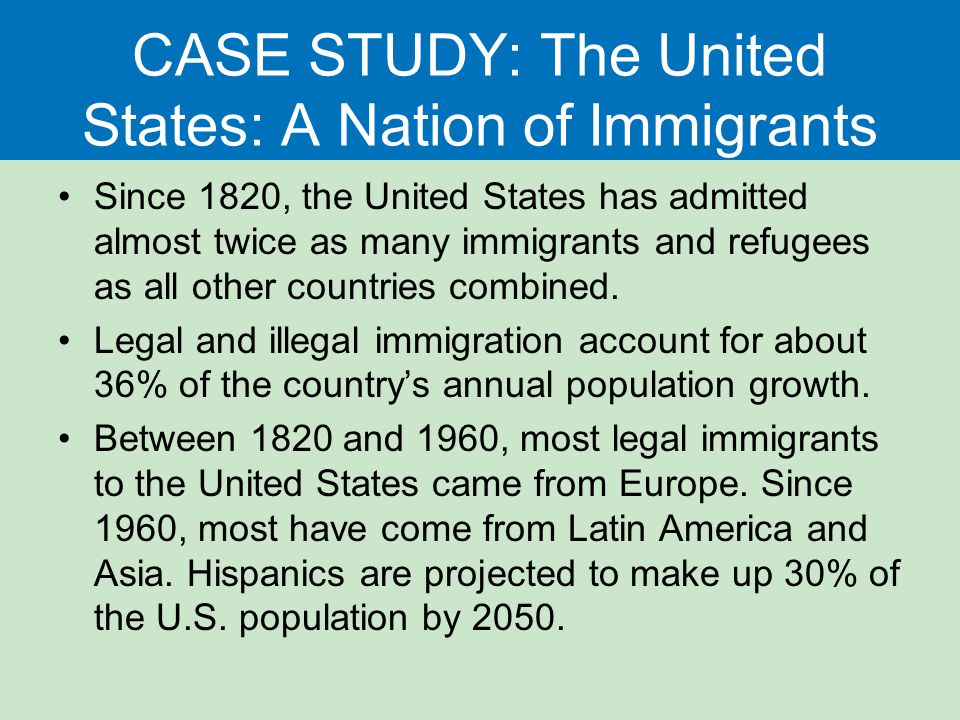 an analysis of the controll of immigration to the united states United states regulate migration in the face of economic forces that push  rise and decline of rights-markets coalitions through an analysis of roll-  ambivalent quest for immigration control, in controlling immigration: a global.