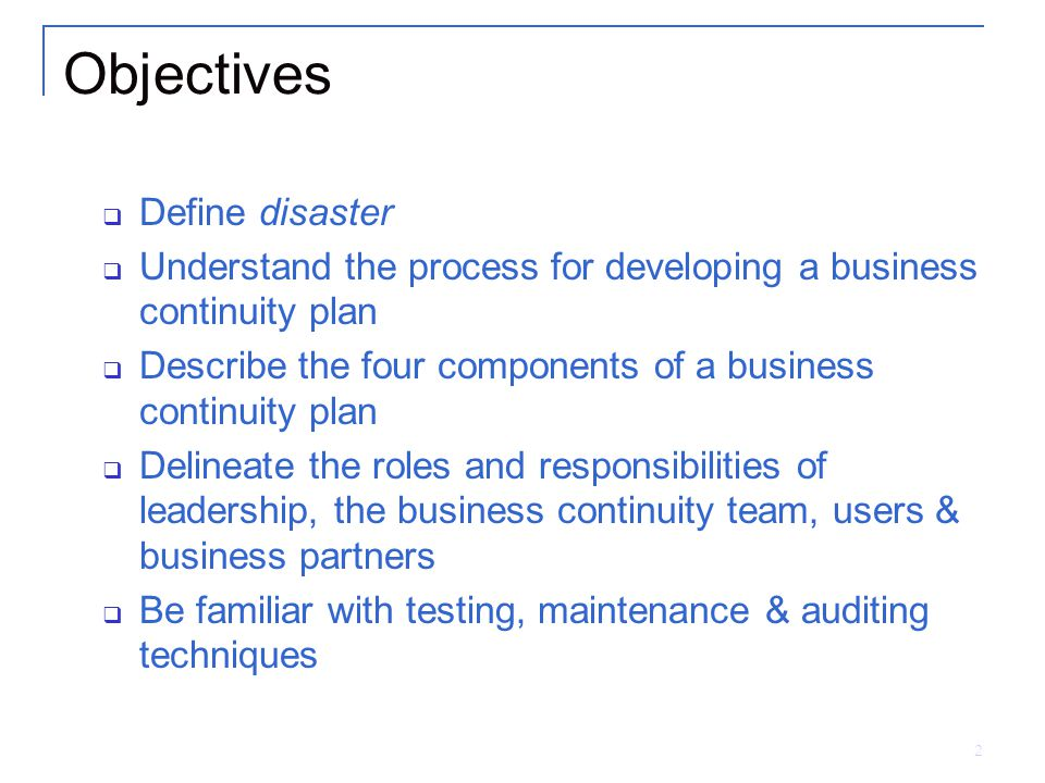 Business continuity planning - Wikipedia