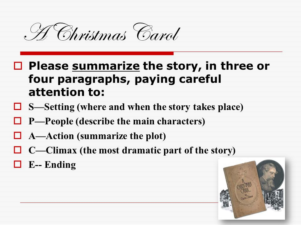 A Christmas Carol by Charles Dickens. - ppt download